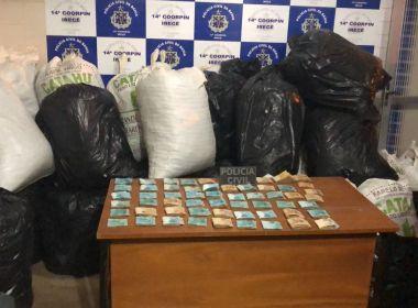 Em 2018, polícia já apreendeu cerca de R$ 9 milhões em drogas na Bahia