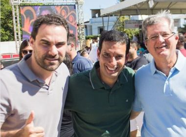 Léo Prates anuncia apoio a Jutahy Magalhães para Senado