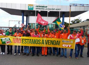 Petroleiros anunciam greve de 72 horas a partir da próxima quarta-feira