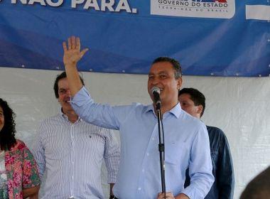 Governo de Rui Costa é ótimo ou bom para 66,4% dos baianos, aponta pesquisa