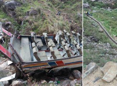 Acidente de ônibus na Índia deixa pelo menos 44 pessoas mortas