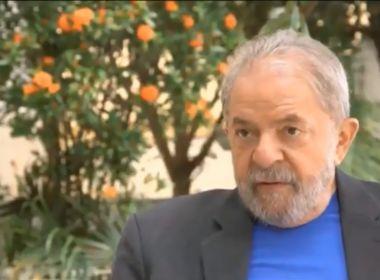 Lula se compara a Tiradentes em vídeo comentando prisão: 'Enforcado que virou herói'