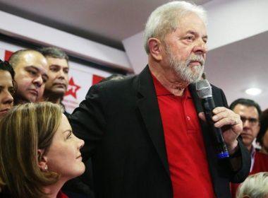 PT fará marcha popular ao TSE para registrar candidatura de Lula em 15 de agosto