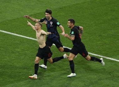 Nos pênaltis, Croácia vence Rússia e enfrenta a Inglaterra na semifinal da Copa