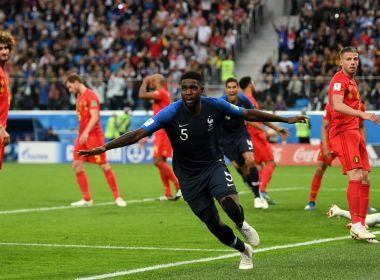 França supera a Bélgica e vai à final da Copa do Mundo