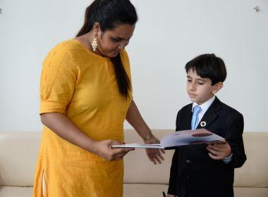 Brasileiro de oito anos vai à Nova York pedir que português se torne língua oficial da ONU
