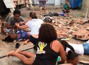 Uma pessoa morre após caminhão atropelar pedestres na Aliomar Baleeiro