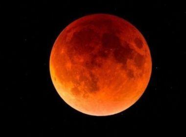 Lua de sangue: Maior eclipse lunar do século será na próxima sexta