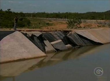 Rompimento de canal de transposição do Rio São Francisco pode ter sido criminoso