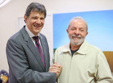Após conversa conclusiva entre Lula e Haddad, PT vai anunciar mudança na chapa