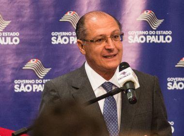 MP-SP apresenta ação de improbidade administrativa contra Geraldo Alckmin
