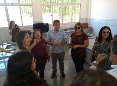 Governo entrega reforma e novos laboratórios em colégios de Santa Maria da Vitória