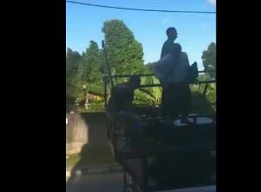 Vídeo: deputado Pastor Sargento Isidório cai de mini-trio em São Francisco do Conde