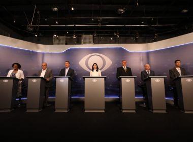 Confira agenda dos candidatos ao governo do estado nesta segunda