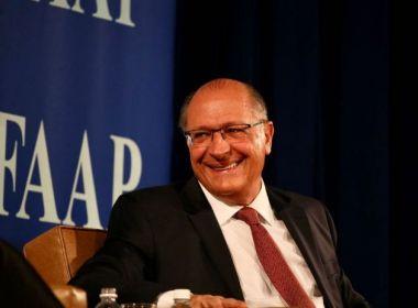 Alckmin segue como candidato com maior arrecadação para campanha