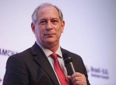 'Nem a pau, Juvenal', diz Ciro Gomes sobre possível apoio a Haddad no 2º turno