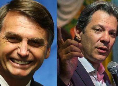 Pesquisa DataPoder360 aponta Bolsonaro com 26% e Haddad com 22%