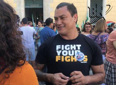 Candidato do PDT, Popó ironiza empurrão de Ciro durante ato: 'Dá pra ser lutador de boxe'