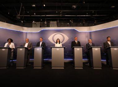 Confira agenda dos candidatos ao governo do estado nesta terça