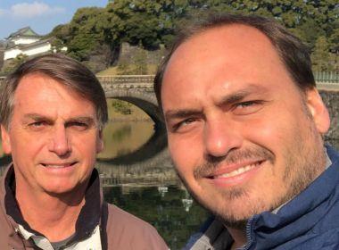 Com alusão a tortura, filho de Bolsonaro rebate movimento 'ele não'