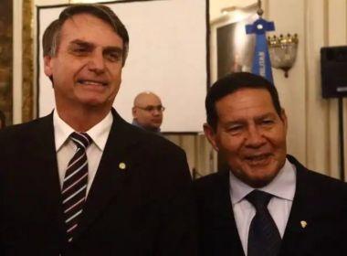'Falei para ele ficar quieto porque está atrapalhando', diz Bolsonaro sobre Mourão