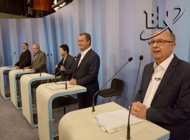 Último bloco do debate é marcado por ataques, agradecimentos e pedidos de votos