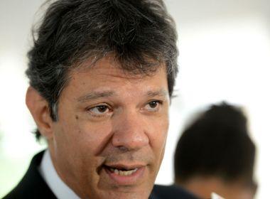 Após 1° turno, Haddad diz que tem respeito com os 'veteranos' Ciro, Marina e até Alckmin