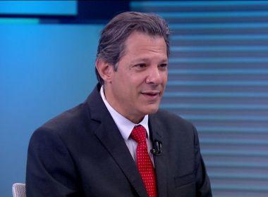 Haddad admite que contava com maior apoio de FHC contra Bolsonaro