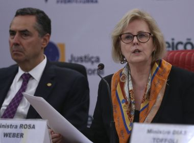 Grupo de advogados pede audiência com Rosa Weber cobrar combate a notícias falsas