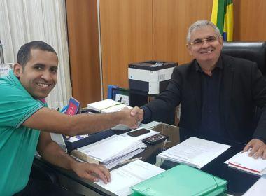 Deputado do PSC que migrou para base de Rui, Tum é recebido pelo presidente da AL-BA