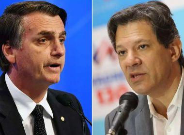 Paraná Pesquisas: Jair Bolsonaro chega a 60,6% dos votos válidos; Haddad tem 39,4%