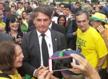 PRESIDENTE ELEITO BOLSONARO EM BRASILIA NA FESTA DOS 30 ANOS DA CONSTITUIÇÃO