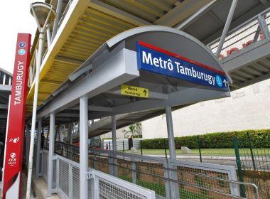 Governo inaugura duas últimas passarelas da linha 2 do metrô