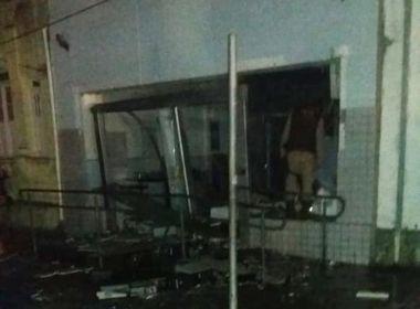 Conceição da Feira: Homens explodem caixa eletrônico e assustam cidade