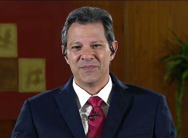 Haddad admite que Brasil pode crescer com governo liberal de Bolsonaro