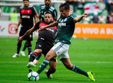Vitoria se despede da Série A com derrota para o campeão Palmeiras