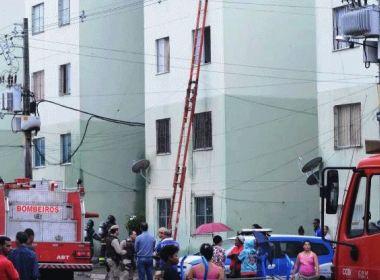 Incêndio em Feira de Santana deixa um morto e, pelo menos, sete pessoas feridas