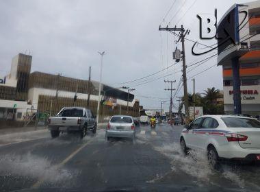 Salvador e mais 148 cidades recebem alerta máximo de temporal até as 18h desta quinta