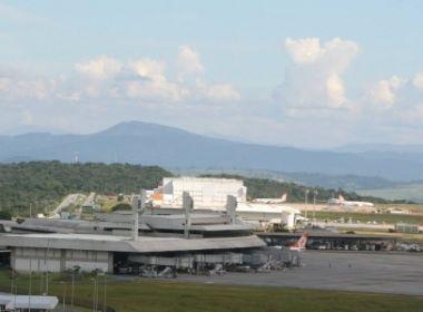 Problemas em Confins cancelam um voo em Salvador; outro está sem previsão de saída
