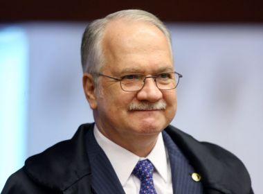 Edson Fachin homologa delação premiada que atinge Renan Calheiros