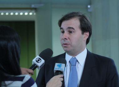 Candidato à reeleição, Maia entregará carta de compromissos para deputados novos