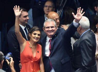 'O Brasil deve muito à você Collor', diz Coronel em apresentação de candidatura no Senado