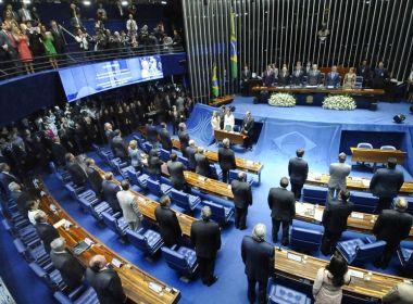 Senado define Mesa Diretora; Jaques Wagner e Flávio Bolsonaro estão na lista