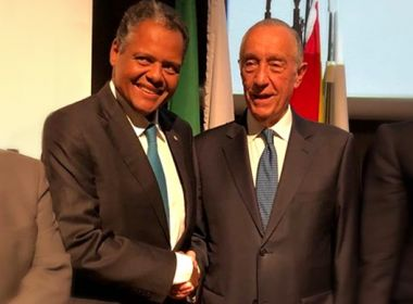 Deputado baiano tem encontro com presidente de Portugal para falar sobre Santas Casas