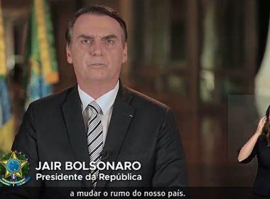 'Nova reforma é justa e para todos', diz Bolsonaro em pronunciamento na Televisão