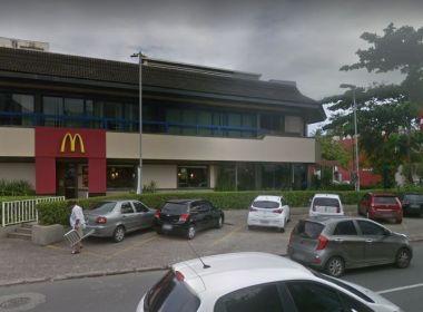 Funcionário da McDonald's do Rio Vermelho é agredido por clientes
