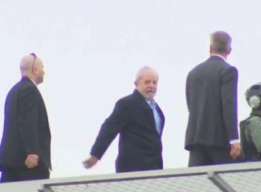 Lula deixa sede da Polícia Federal para ir a velório de neto