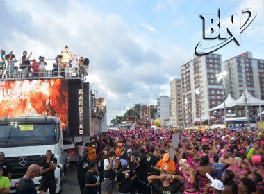 Quase cinco mil horas de música agitaram o Carnaval de Salvador