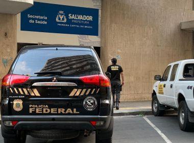 PF deflagra operação para desarticular esquema na Secretaria de Saúde de Salvador