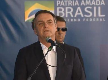 'Eu não estou no Nordeste, estou no Brasil', diz Bolsonaro em discurso em Petrolina